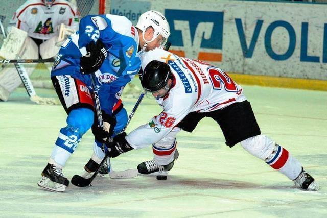 EHC Freiburg verliert gegen die Blue Devils Weiden mit 2:3
