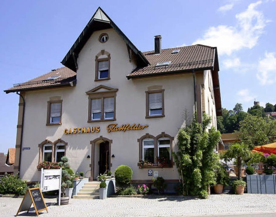 """Mehr Sein als Schein – das  Gast...8222;Glattfelder"""" in Ortenberg      Foto: ©RB"""