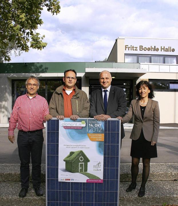 Die Organisatoren der Elementa 21: Pet...ler und Christian Kessel (von rechts).  | Foto: Gerda Oswald