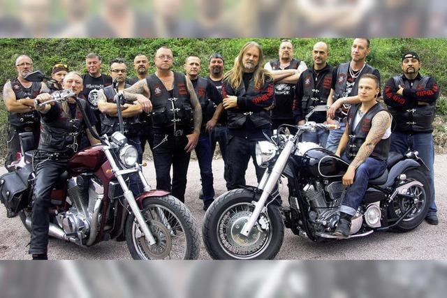 Wie eine Familie: Motorrad-Begeisterte vom