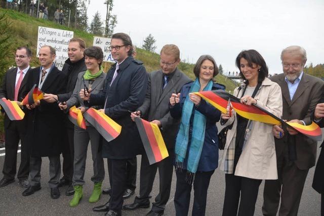 Autobahnabschnitt A98.7 freigegeben – Orte werden entlastet