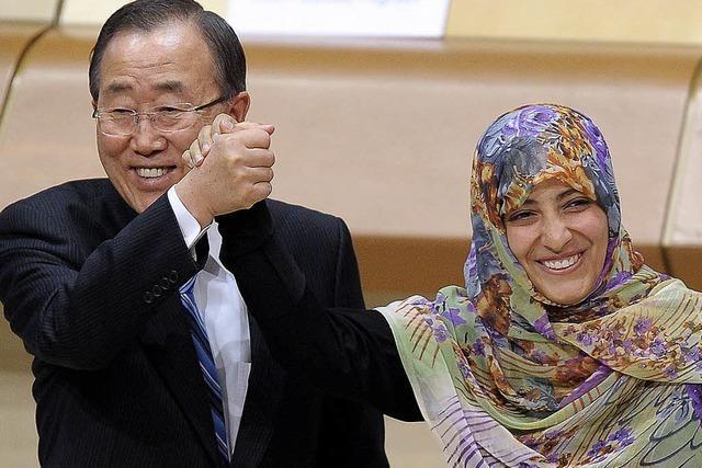 Ban ruft in Straßburg zu Lösung des Syrien-Konflikts auf
