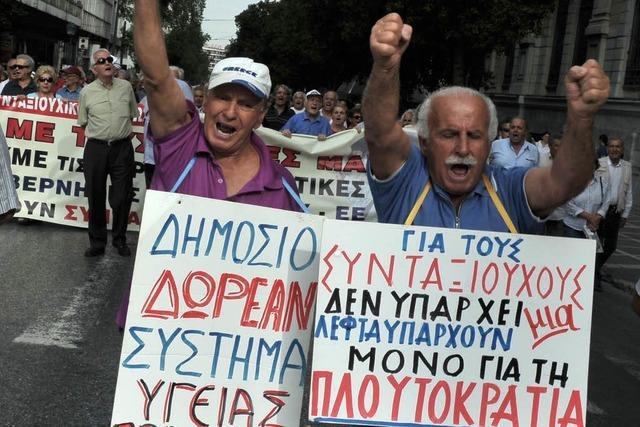 Merkel will den griechischen Reformkurs unterstützen
