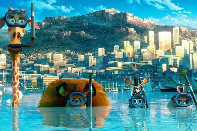 Madagascar 3 – Flucht durch Europa