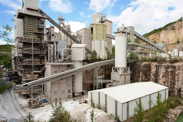 Streit um neue Flächen für Kalkstein-Abbau in Istein