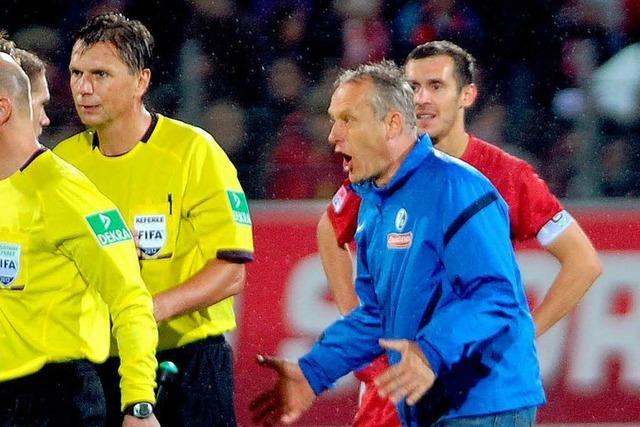 DFB beantragt 4000 Euro Strafe gegen Streich – SC legt Einspruch ein