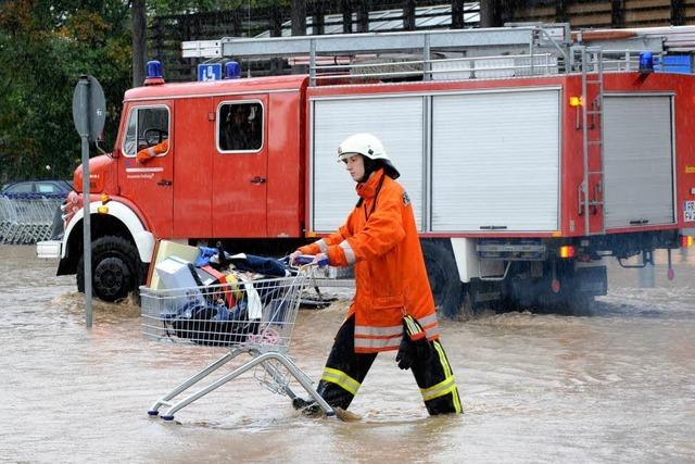 Heftige Regenfälle im Breisgau – Schwere Schäden durch Hochwasser