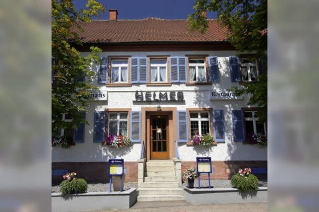 Restaurant Helmer in Elgersweier: Natürlich statt aufgehübscht