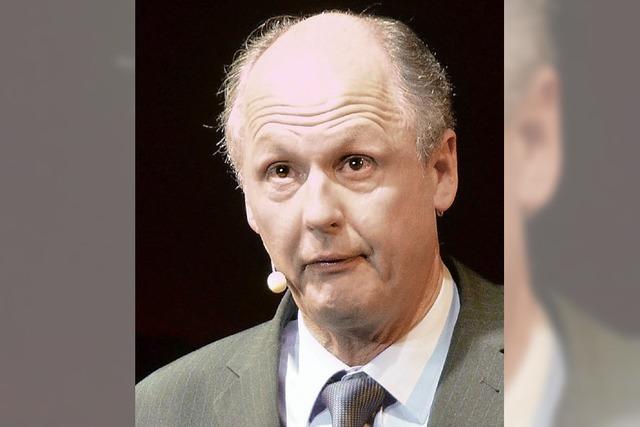 Politkabarett mit Biss: Reiner Kröhnert bei der Kulturwoche