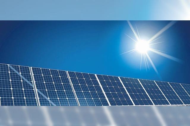 Vorstoß für Fotovoltaik auf Flughafen
