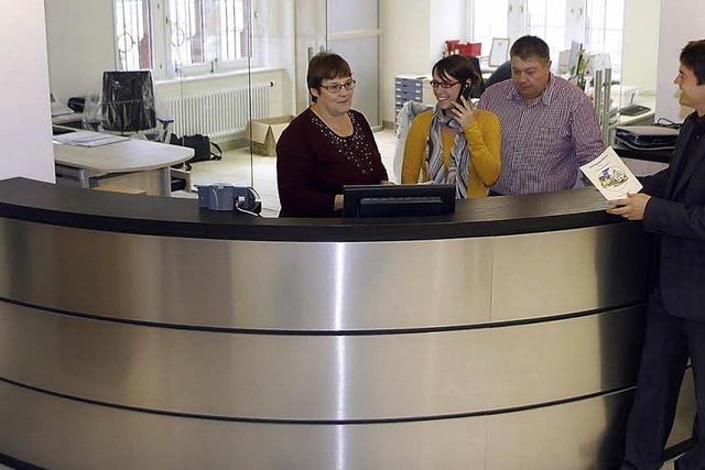 Bürgerbüro nimmt den Betrieb auf