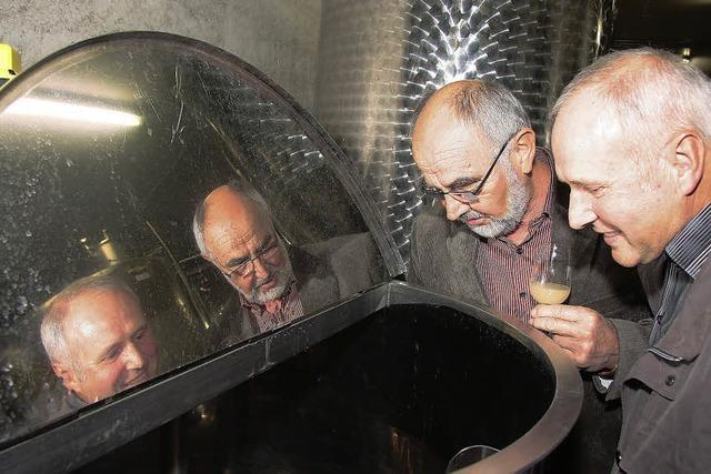 Moderne Technik für den Weinbau