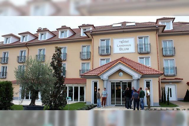 Neues Hotel beim Heuboden