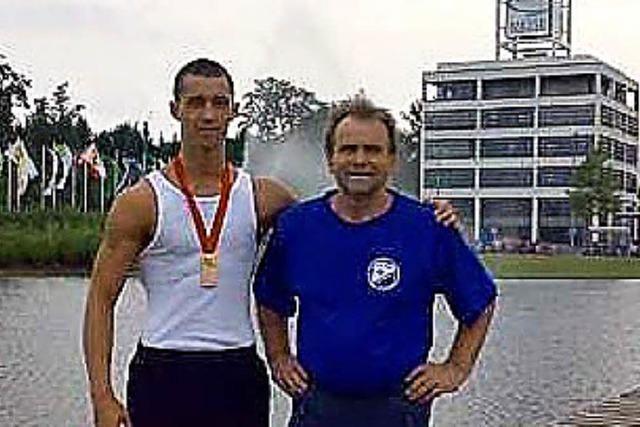 Bronze für Klaus Burger