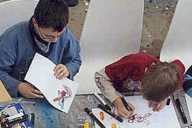 Workshops für Graffitikünstler