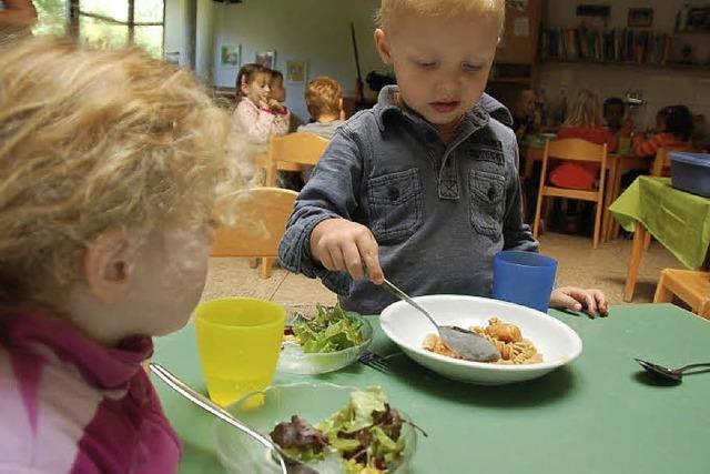 Ein Mittagessen für die Kleinsten