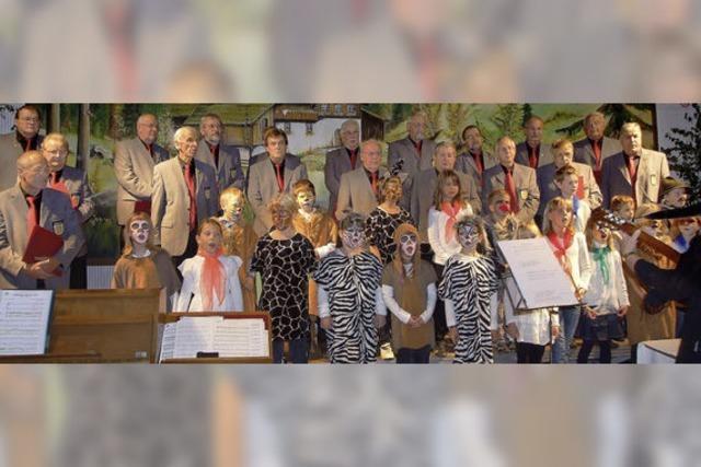Herbstliches Chorkonzert gestaltet