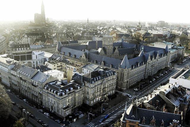 Straßburgs Hohenzollern-Erbe