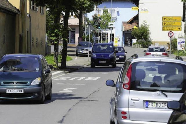 Tiengens Gemeinderat will ein Durchfahrtsverbot für LKW