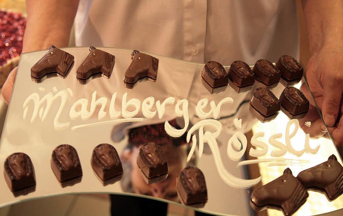 Das Mahlberger Wappentier inspirierte zu den kleinen Versucherli.   | Foto: fotos: sandra decoux-kone