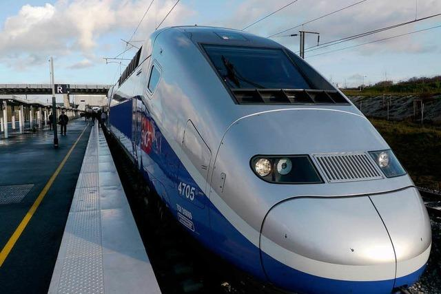 Das Elsass rückt näher heran: Erst fährt der Blauwal, dann der TGV