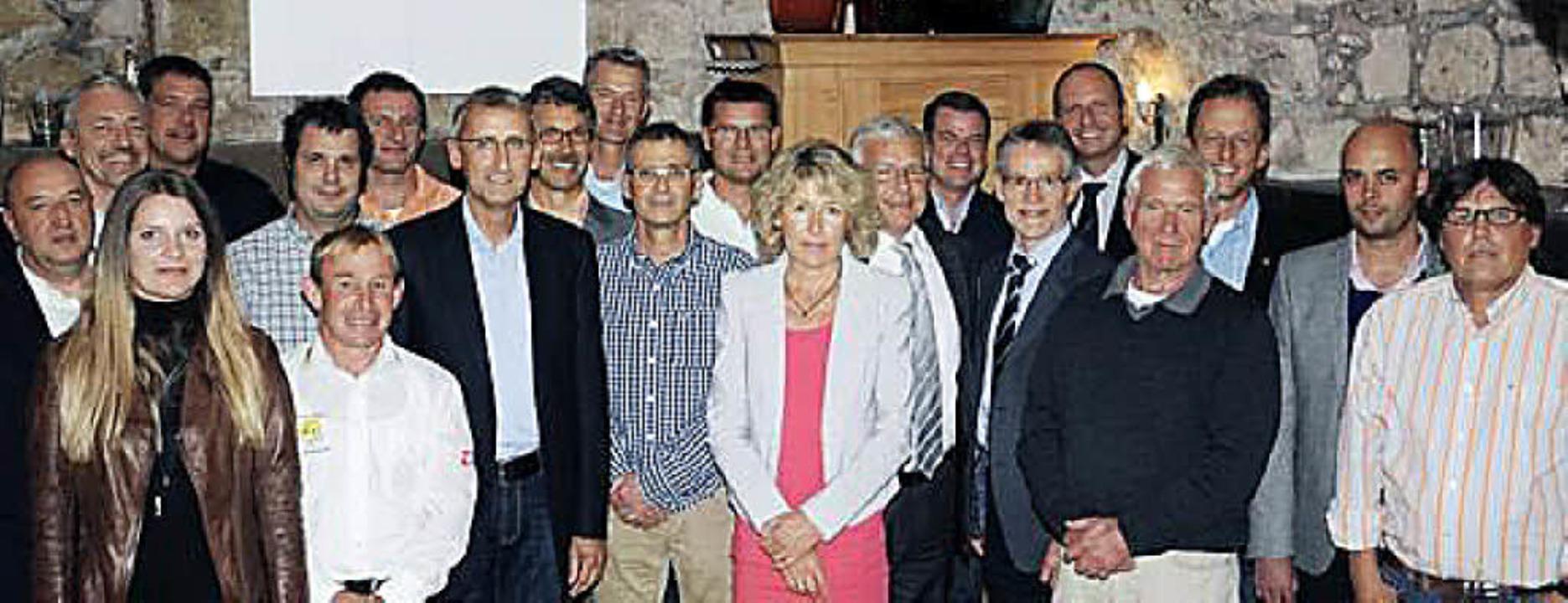 Die Gründungsmitglieder versammelten sich in Efringen-Kirchen.   | Foto: zvg