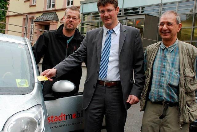 Offenburg verzichtet auf einen Dienstwagen und beteiligt sich am Car-Sharing