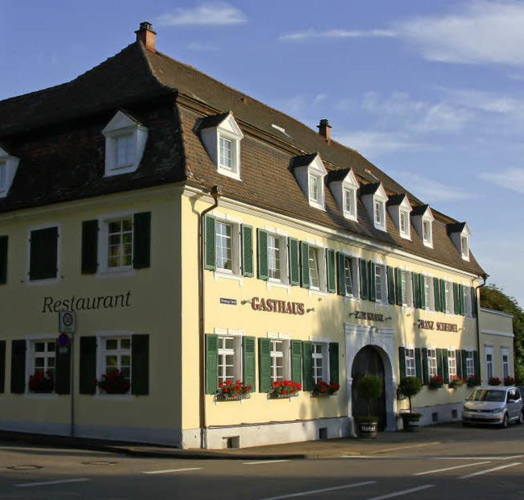 Seit mehr als 200 Jahren eine Institut...ngen: Scheidels Restaurant zum Kranz    | Foto: ©RB