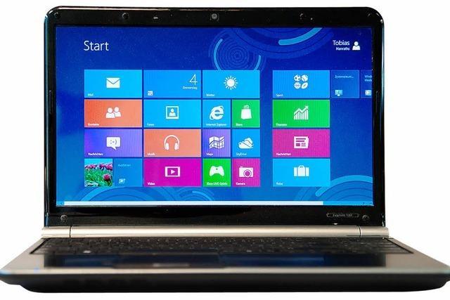 Windows 8: Kacheln statt Icons