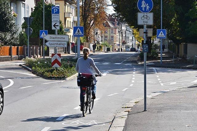 Schutzstreifen: Sicherheit für Radfahrer