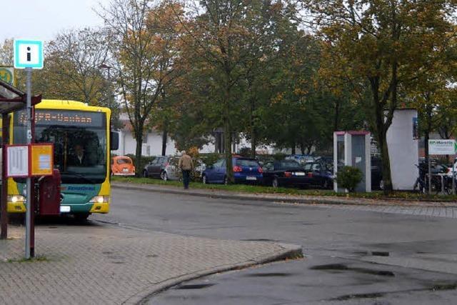 Ein Platz für fünf Busse