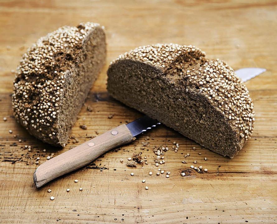 Brot aus Quinoa, einer jahrtausendealten Kulturpflanze   | Foto: Michael Wissing