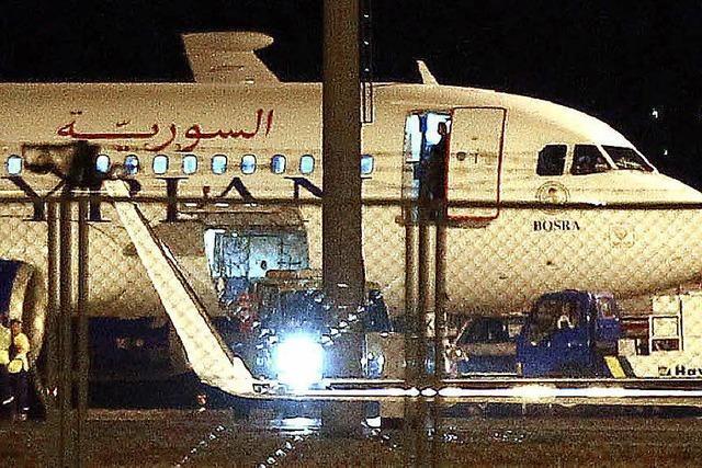 Türkei stoppt syrischen Airbus: Nur ein Säbelrasseln