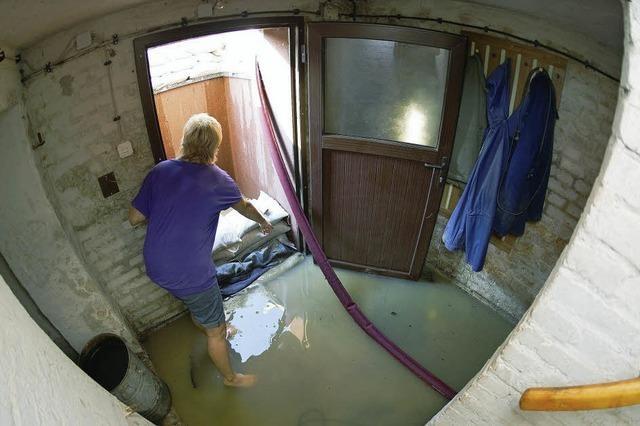 Die Sintflut im Keller
