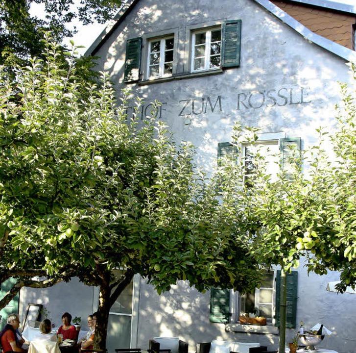 """Schmuckstück mit Freisitz: Das """"Rössle"""" in Dietenbach     Foto: ©RB"""