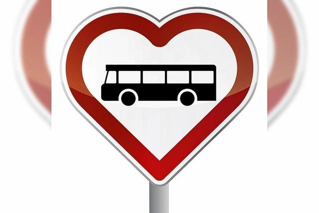 Unsere Busfahrt, die ist spannend