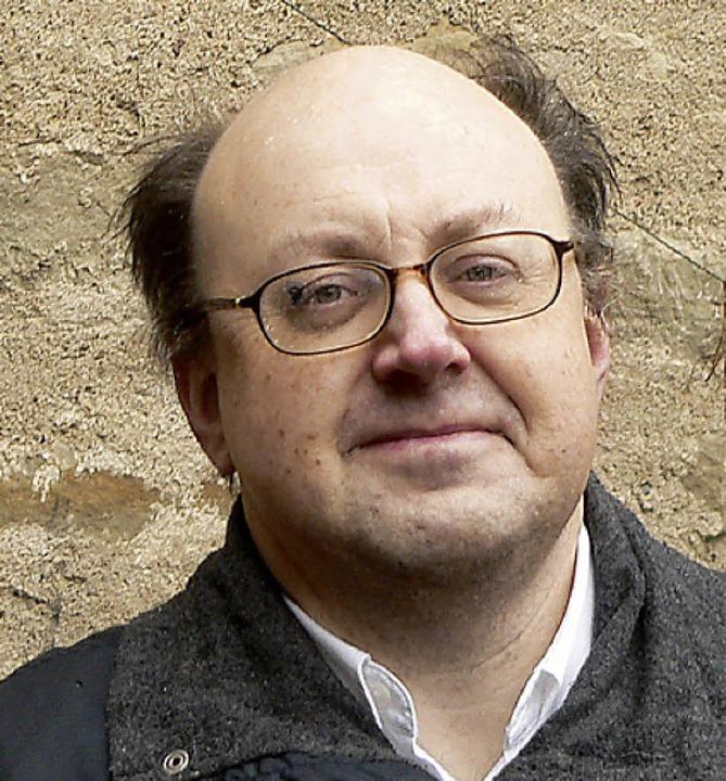 """Historiker Klaus Graf referiert im Rah...ss im Zeitalter der Aufklärung"""".    Foto: Ralf Roletschek"""