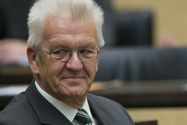 Kretschmann führt Bundesrat - Bekenntnis zum EU-Beitritt der Türkei