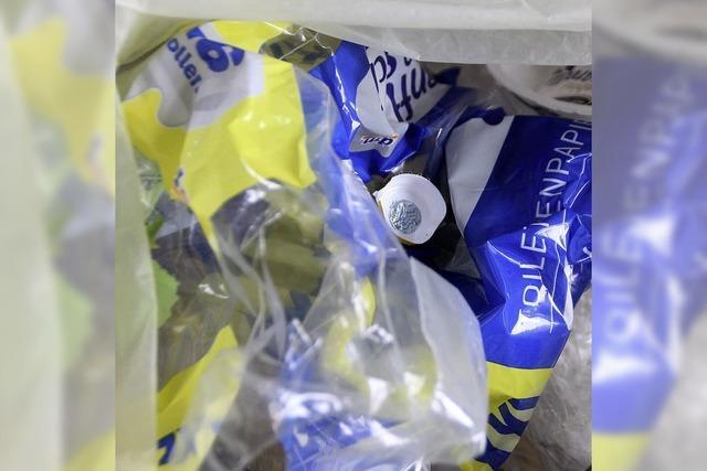 Plastik ist ein Problem