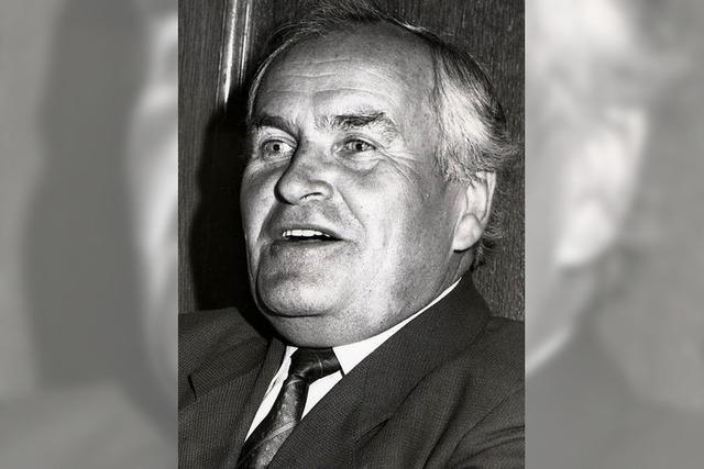 Trauer um Willi Bürklin