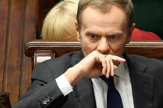 Polnischer Ministerpräsident stellt Vertrauensfrage