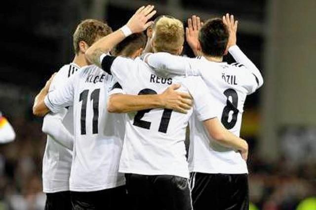 Deutschland fertigt Irland mit 6:1 ab