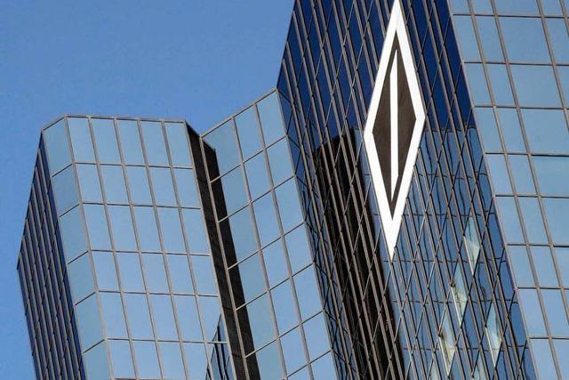 Für die Deutsche Bank wird es teuer