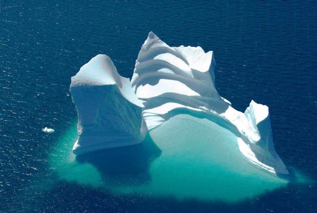 Werden kleiner: Arktische Eisberge  | Foto: dpa