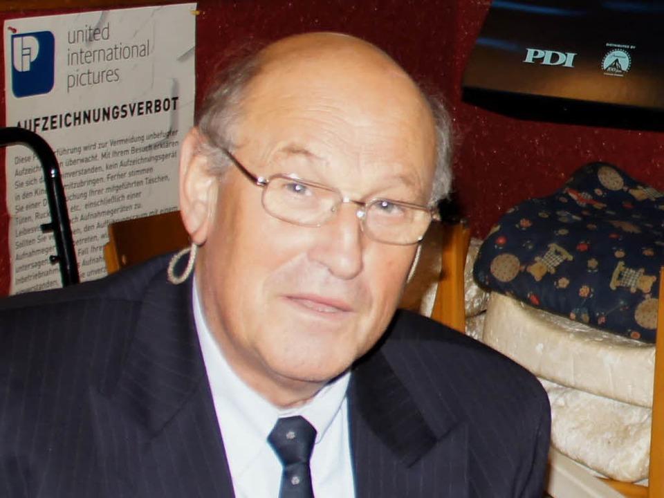 Buchautor und Filmemacher, vor allem a...raftgegner: Holger Strohm in Kenzingen  | Foto: Ilona Huege