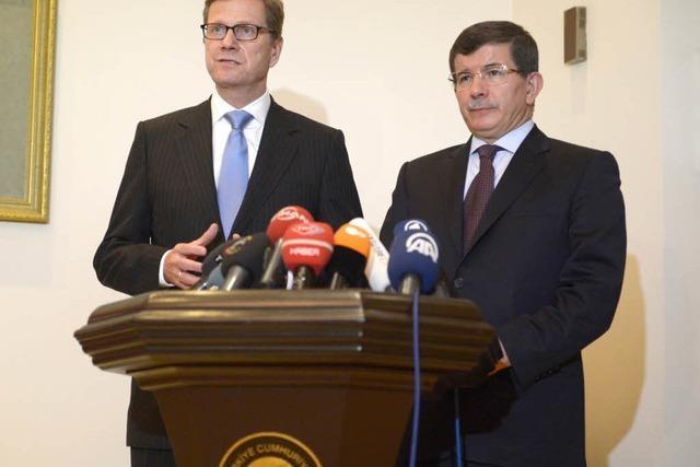 Westerwelle: Türkei soll besonnen bleiben