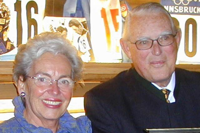 Ehepaar Haub erhält Ehrenbürgerwürde