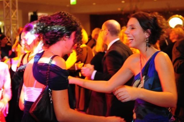 Presseball 2012: Freiburg tanzt durch die Nacht