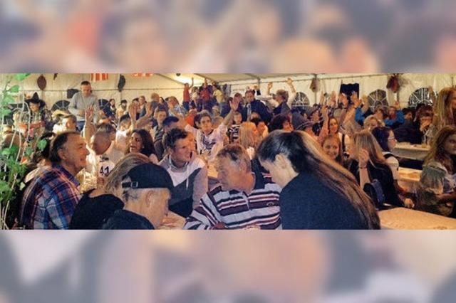 Party und viele Gäste