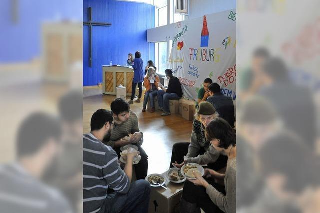 Christliches Gebet zum Falafelessen